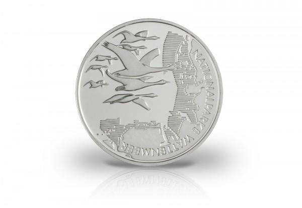 10 Euro Silbermünze 2004 Deutschland Wattenmeer PP