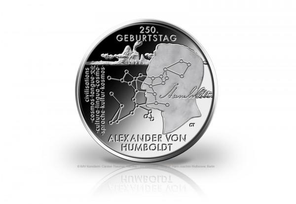 20 Euro Silbermünze 2019 Deutschland 250. Geburtstag Alexander von Humboldt PP
