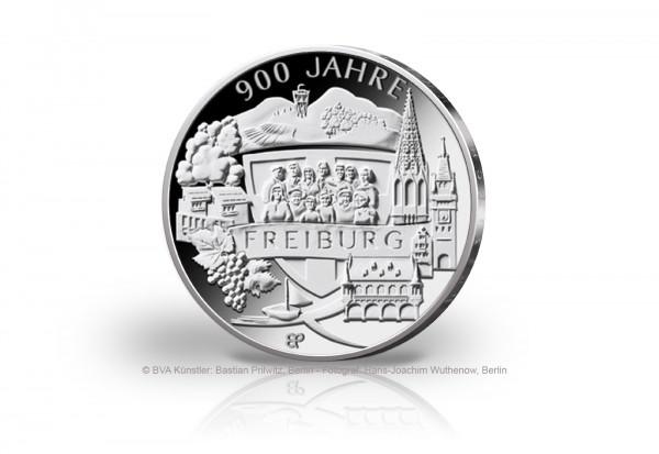 20 Euro Silbermünze 2020 Deutschland 900 Jahre Freiburg PP