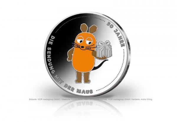 20 Euro Silbermünze 2021 Deutschland 50 Jahre Sendung mit der Maus PP