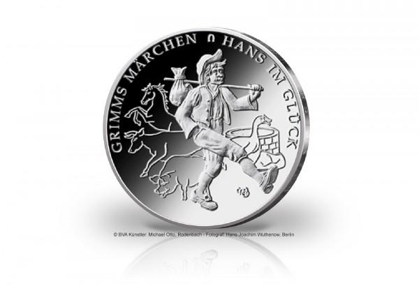 20 Euro Silbermünze 2023 Deutschland Hans im Glück st