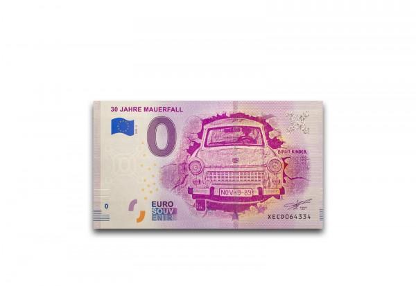 0 Euro Banknote 30 Jahre Mauerfall 2019