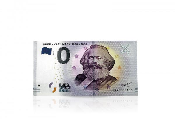 0 Euro Banknote 200. Geburtstag Karl Marx