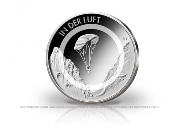 10 Euro 2019 Deutschland In der Luft mit Polymerring st Prägestätte unserer Wahl