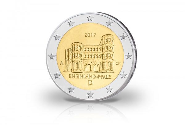 2 Euro 2017 Deutschland Porta Nigra Rheinland Pfalz PP Prägestätte A