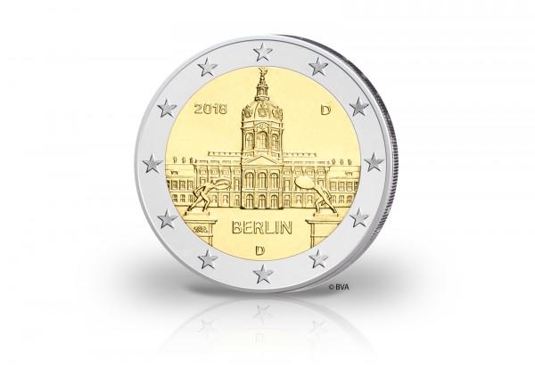 2 Euro 2018 Deutschland Berlin Schloss Charlottenburg Prägestätte unserer Wahl