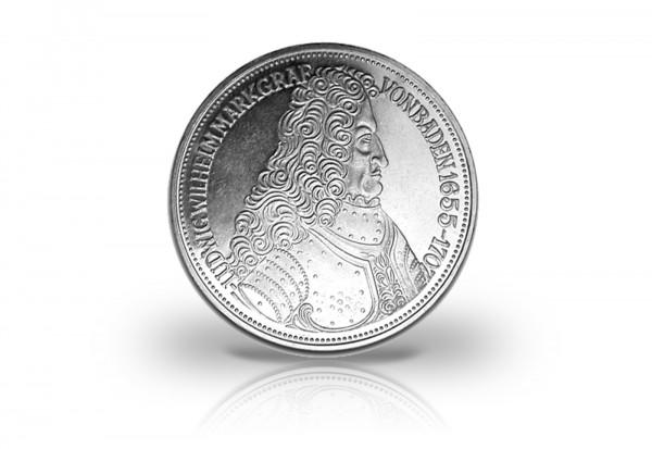 5 DM Silbermünze 1955 BRD Markgraf von Baden PP Jaeger-Nr. 390