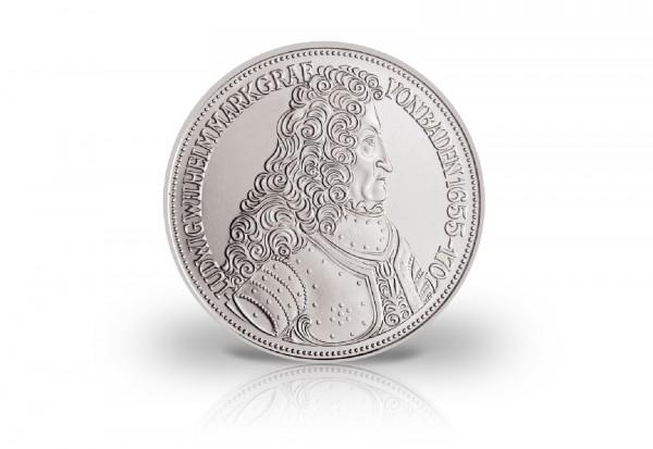 5 DM Silbermünze 1955 BRD Markgraf von Baden Jaeger-Nr. 390
