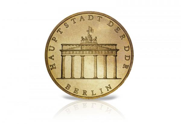 DDR 5 Mark Gedenkmünze 1981 Brandenburger Tor