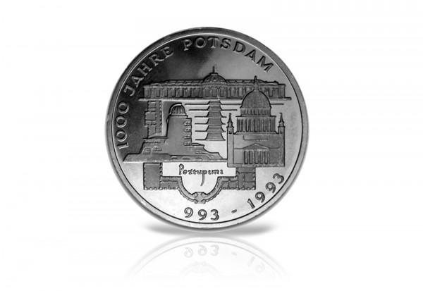 BRD 10 DM 1993 Gedenkmünze 1000 Jahre Potsdam st Jaeger Nr. 455
