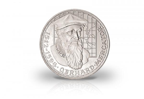 5 DM Silbermünze 1969 BRD F Mercator Fehlprägung mit langem R