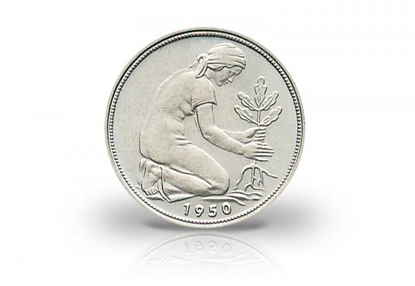 50 Pfennig 1966 BRD Prägestätte G Jaeger-Nr. 384