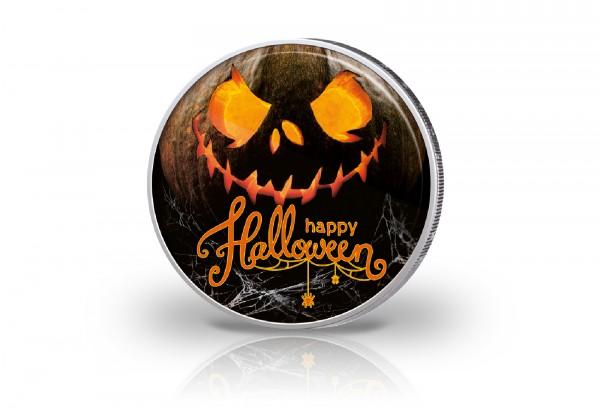 2 Euro mit Farbmotiv Happy Halloween