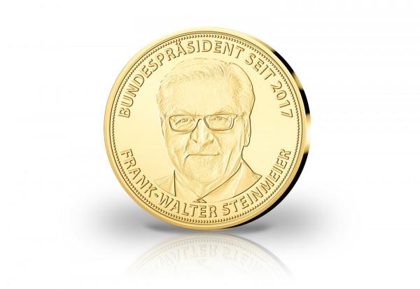Goldausgabe 1/10 oz Frank-Walter Steinmeier PP im Etui