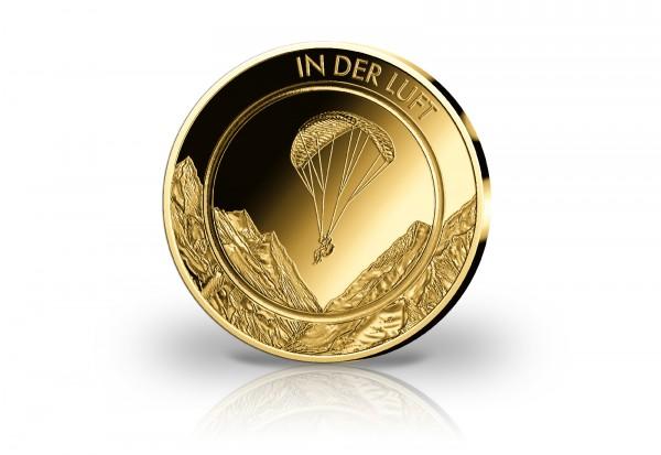 Goldausgabe 1/10 oz In der Luft PP im Etui