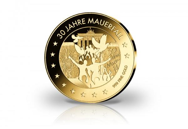 Goldmünze 30 Jahre Mauerfall