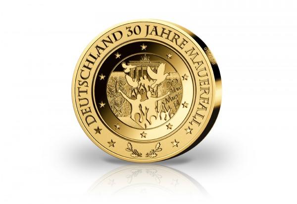 Goldausgabe 1/10 oz 30 Jahre Mauerfall 2019 PP im Etui