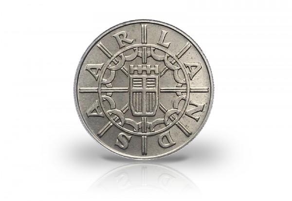100 Franken 1955 Saarland Jaeger-Nr. 804