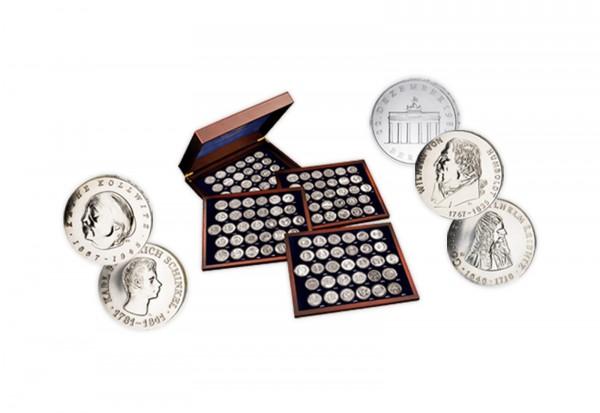 Komplettsatz Gedenkmünzen 1966-1990 DDR inkl. Die ersten Vier