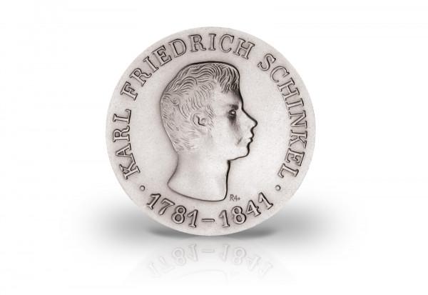 10 Mark Gedenkmünze 1966 DDR Karl Friedrich Schinkel Jaeger-Nr. 1517