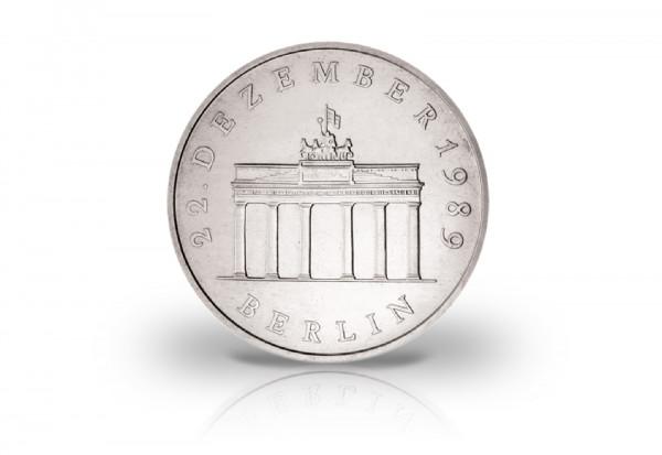 20 Mark Gedenkmünze 1990 DDR Öffnung des Brandenburger Tor Jaeger-Nr. 1635