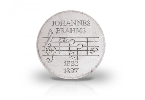 5 Mark Gedenkmünze 1972 DDR Johannes Brahms Jaeger-Nr. 1540