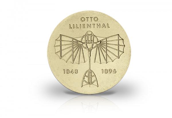 5 Mark Gedenkmünze 1973 DDR Otto Lilienthal Jaeger-Nr. 1546