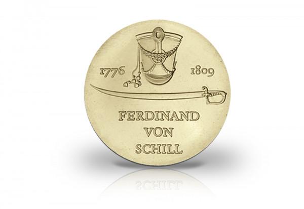 5 Mark Gedenkmünze 1976 DDR Ferdinand von Schill Jaeger-Nr. 1559