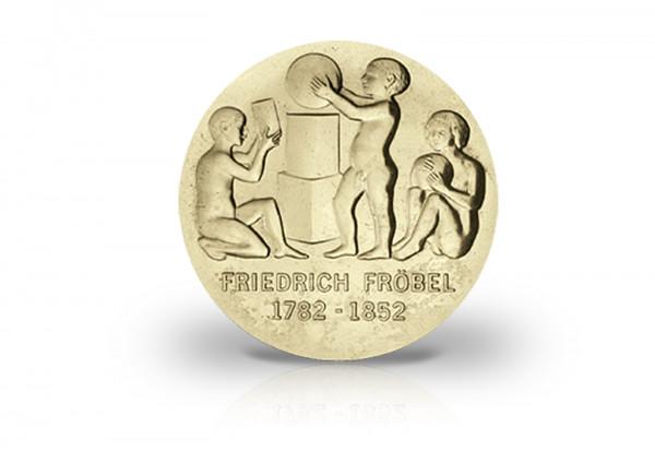 5 Mark Gedenkmünze 1982 DDR Friedrich Wilhelm August Fröbel Jaeger-Nr. 1584