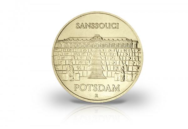 5 Mark Gedenkmünze 1986 DDR Sanssouci Jaeger-Nr. 1609