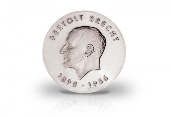 10 Mark Gedenkmünze 1973 DDR Bertolt Brecht Jaeger-Nr. 1544