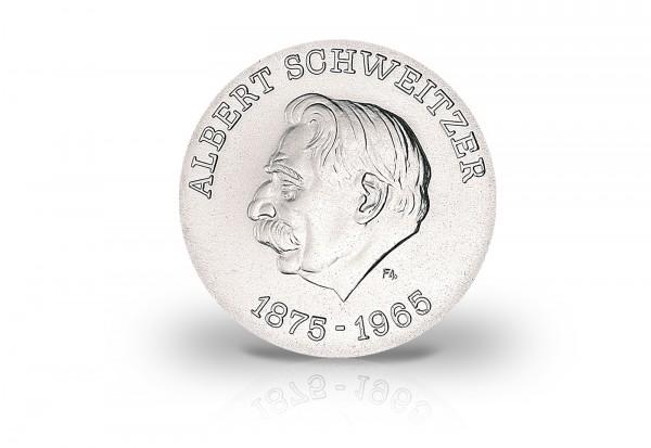 10 Mark Gedenkmünze 1975 DDR 100. Geburtstag von Albert Schweitzer Jaeger-Nr. 1554