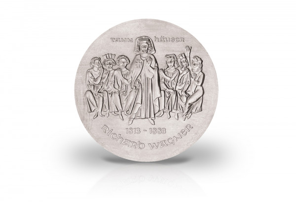 10 Mark Gedenkmünze 1983 DDR Richard Wagner Jaeger-Nr. 1589