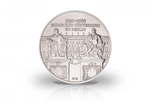 10 Mark Gedenkmünze 1985 DDR 175 Jahre Humboldt-Universität Berlin Jaeger-Nr. 1606