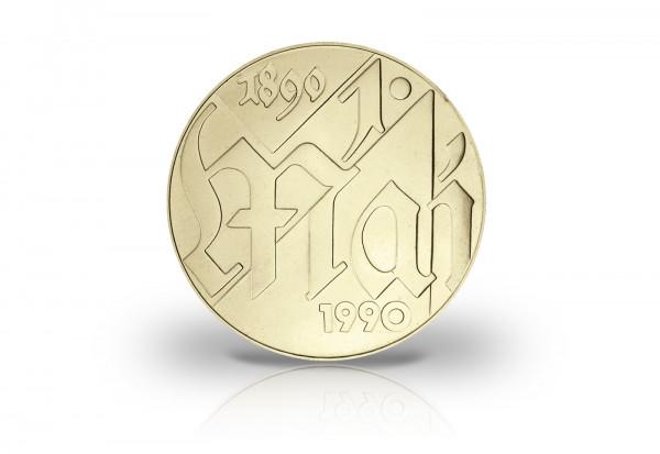 10 Mark Gedenkmünze 1990 DDR Tag der Arbeit Jaeger-Nr. 1637