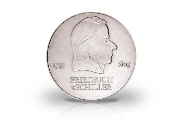 20 Mark Gedenkmünze 1972 DDR Friedrich Schiller Jaeger-Nr. 1537