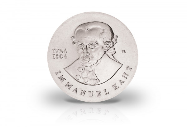 20 Mark Gedenkmünze 1974 DDR Immanuel Kant Jaeger. 1549