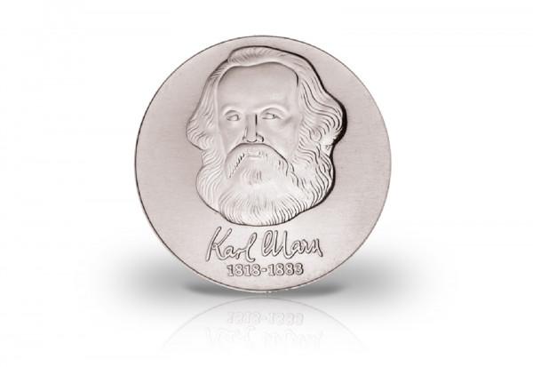 20 Mark Gedenkmünze 1983 DDR Karl Marx Jaeger-Nr. 1592