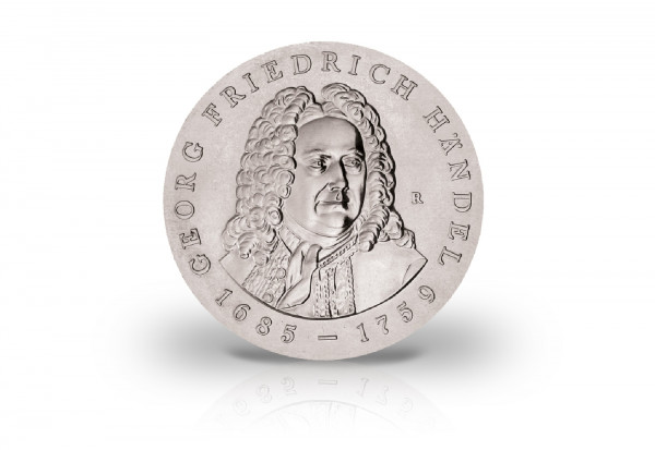 DDR 20 Mark Georg Friedrich Händel 1984 Jaeger-Nr. 1595