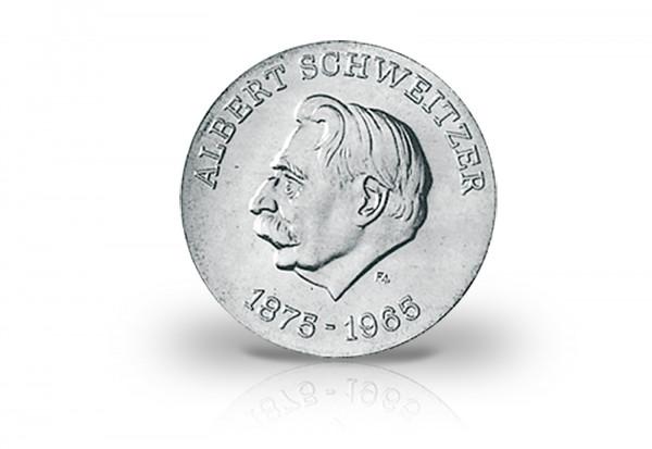 10 Mark 1975 DDR Motivprobe 100. Geburtstag Albert Schweitzer