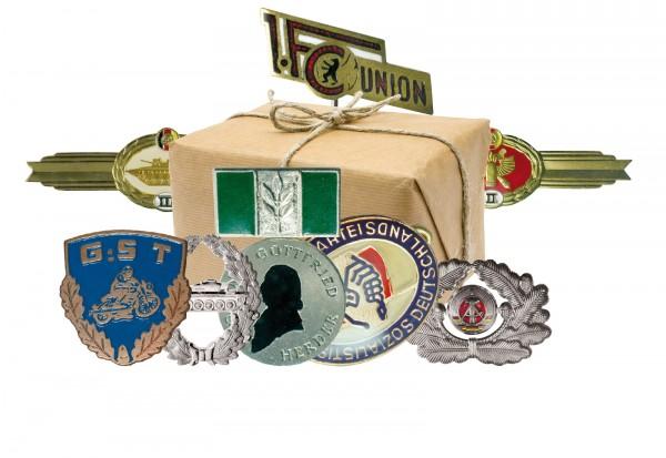 DDR Orden Kollektion I - 10 original Abzeichen im Set