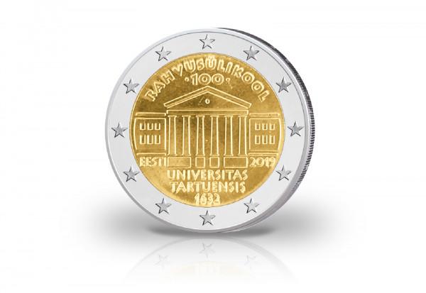 2 Euro 2019 Estland 100 Jahre Universität Tartu