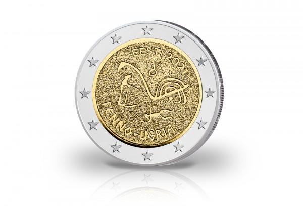 2 Euro 2021 Estland Finno-ugrische Völker