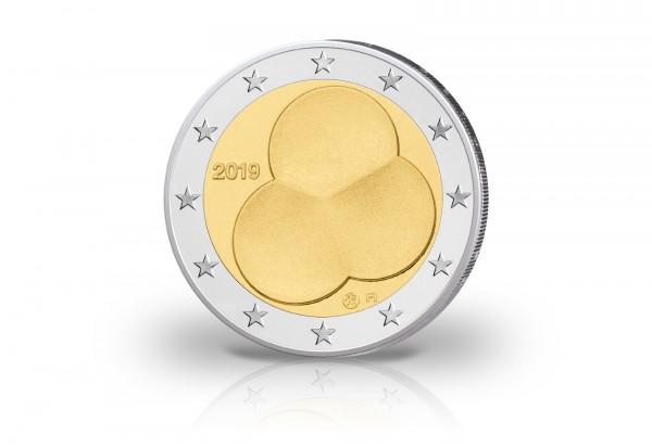 2 Euro 2019 Finnland 100. Jahrestag der Verfassung