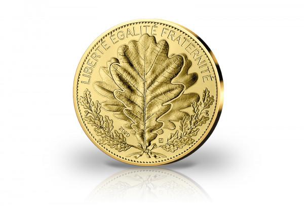 250 Euro Goldmünze 2020 Frankreich Die Eiche st