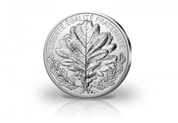 100 Euro Silbermünze 2020 Frankreich Die Eiche st