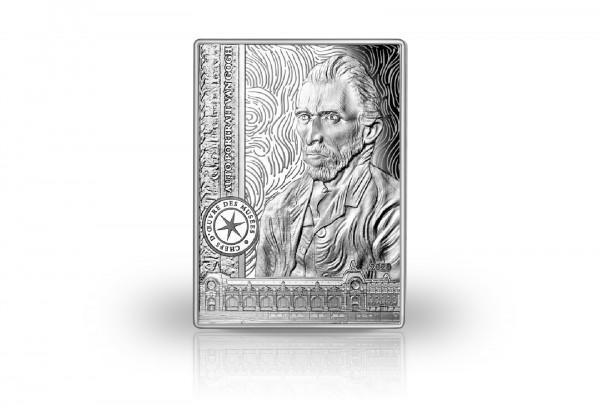 10 Euro Silbermünze 2020 Frankreich Selbstportrait Vincent van Gogh PP