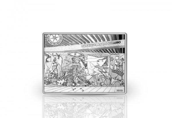 10 Euro Silbermünze 2020 Frankreich Guernica PP