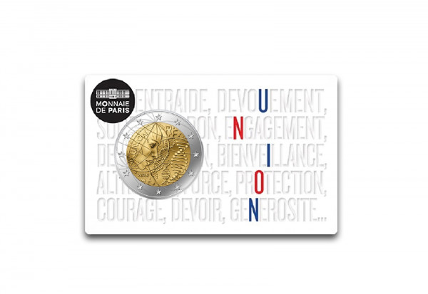 2 Euro 2020 Frankreich Medizinische Forschung Union st in Coincard