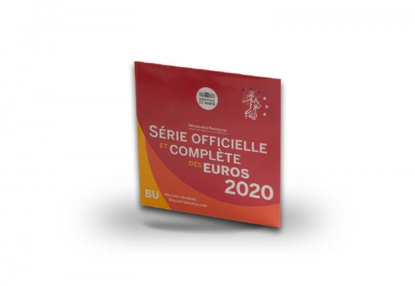 Kursmünzensatz 2020 Frankreich st im Blister